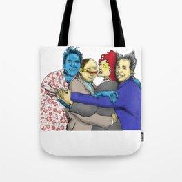 The Uncanny Seinfeld Tote Bag