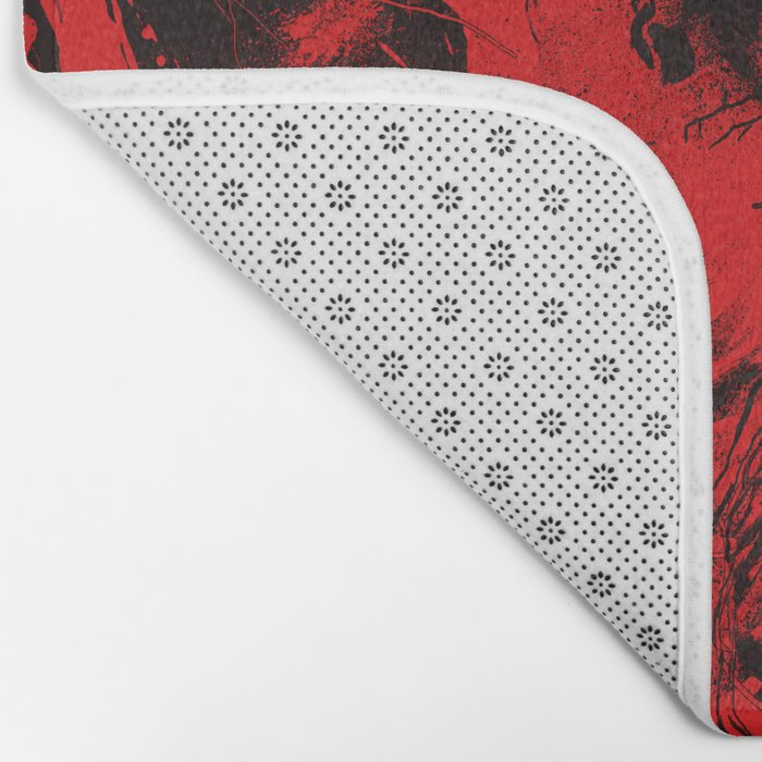 Envision Red Bath Mat