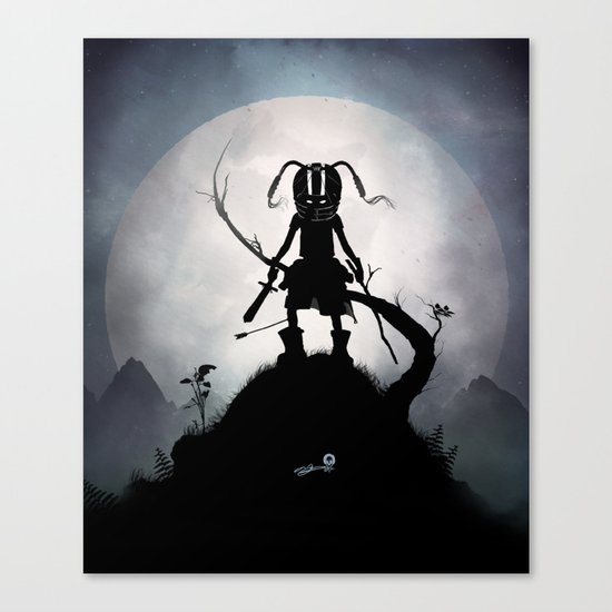 Skyrim Kid Canvas Print