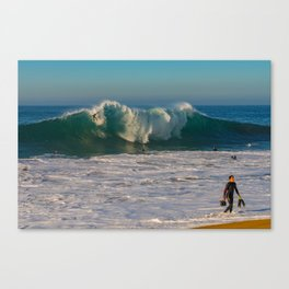 And the Bottom Drops Out Canvas Print