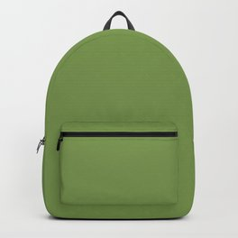 Floss Your Teeth ~ Grass Green Backpack