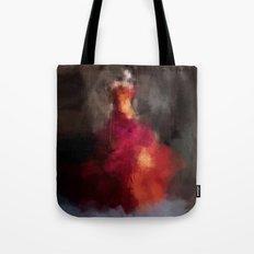 Fire dress Tote Bag