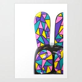 Kelid-ohh bunny I Art Print