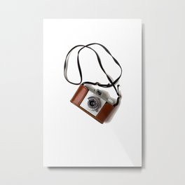 The Photographer (Color) Metal Print