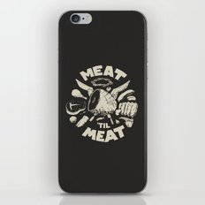 Meat iPhone & iPod Skin