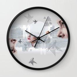 Whomen Wall Clock