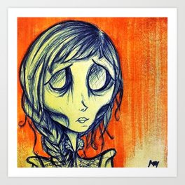 Starvation, Ghoul #1 Art Print
