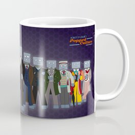 Robot of Leisure: Popped Culture – Doctor Who edition Coffee Mug