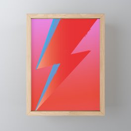 Rebel Rebel Framed Mini Art Print