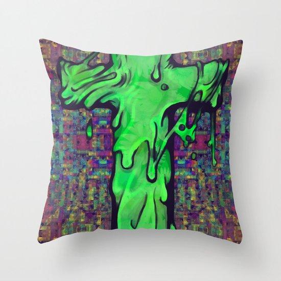 Slime X Cross Throw Pillow