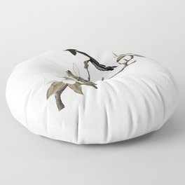 Magpie and Magnolia Floor Pillow
