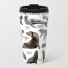 Seals and Seal Lions of the World Travel Mug