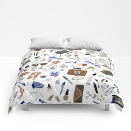 Girly Objects Comforters