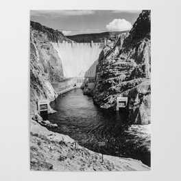 Ansel Adams - Hoover Dam Poster