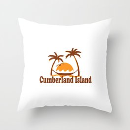 Cumberland Island - Georgia. Throw Pillow