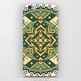 Contentment Mandala iPhone Skin