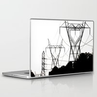 gemma Laptop & iPad Skins featuring I heart your electricity. by Gx2 (Gemma Gilleard)