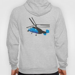 Black and Blue Helicopter Hoody