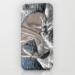 asc 677 - Les ailes du désir (The swain in disguise) Colored version iPhone Case