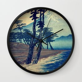 Late swimming after the floods in Hainsay Wall Clock