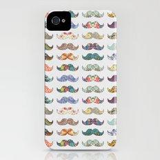 Mustache Mania Slim Case iPhone (4, 4s)