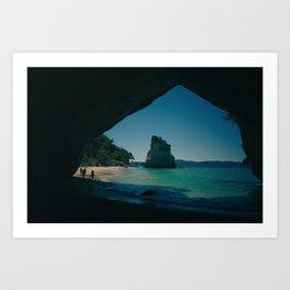Paradise Island 4 Art Print