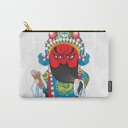 Beijing Opera Character GuanYu Carry-All Pouch