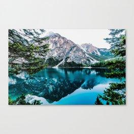 Reflected Peaks Canvas Print