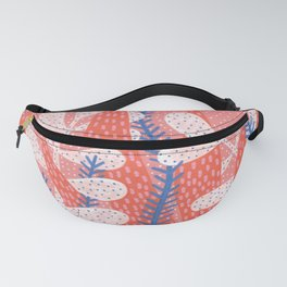 Pink winter Fanny Pack