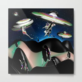 Taking over the Universe Metal Print