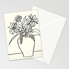 Flowers and Vase, 21 Stationery Cards