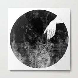the hand Metal Print