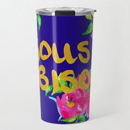 bisous bisous Travel Mug