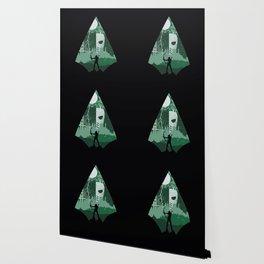 Arrow green Wallpaper