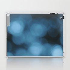 Blue Bokeh Laptop & iPad Skin