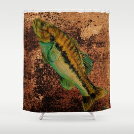 Go Fish Shower Curtain
