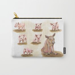 Free range piggies Carry-All Pouch