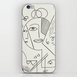 Cubist Perception  iPhone Skin