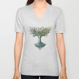 The Tree of Many Things Unisex V-Neck