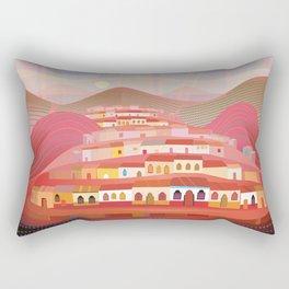 Afternoon in Guatemala Rectangular Pillow