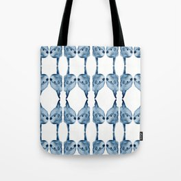 Indigo Sunfish Tote Bag