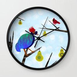 A Partridge in a Pear Tree Wall Clock