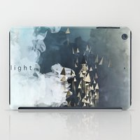 flight iPad Cases featuring flight by Rafael Igualada