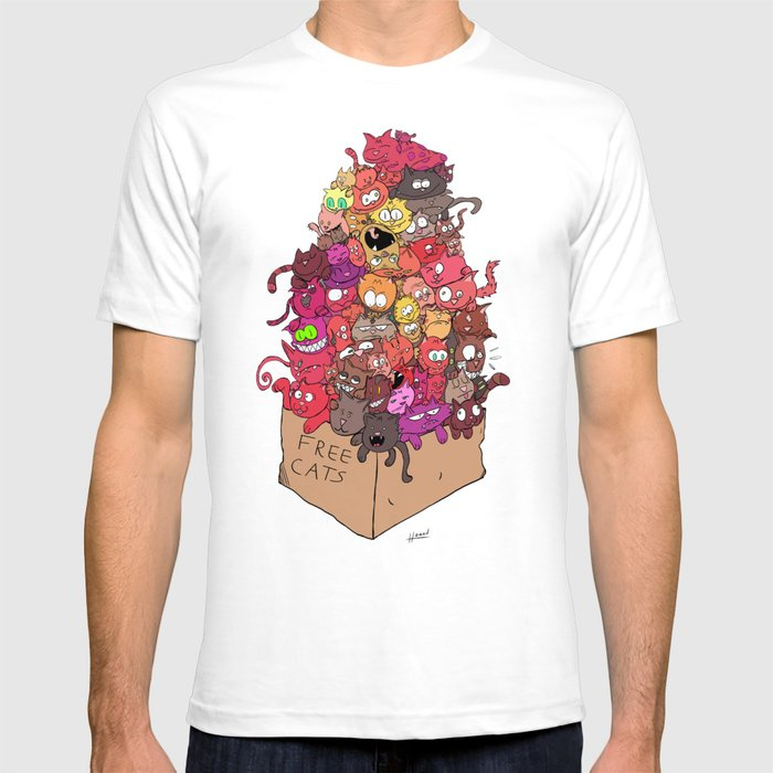 Free Cats T-shirt
