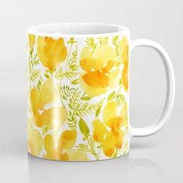Watercolor California poppies (Quad set, #2) Coffee Mug