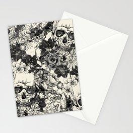 SKULLS 4 HALLOWEEN SKULL Stationery Cards