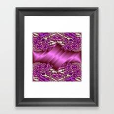 Sheet Metal Decor Framed Art Print