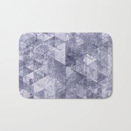 Abstract Geometric Background #26 Bath Mat