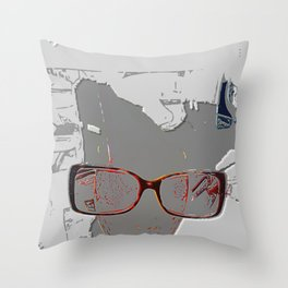 series drink - Sketch drink Throw Pillow