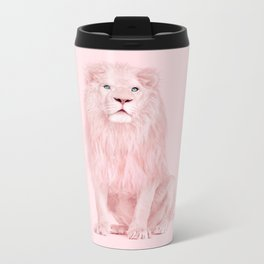 ALBINO LION Metal Travel Mug